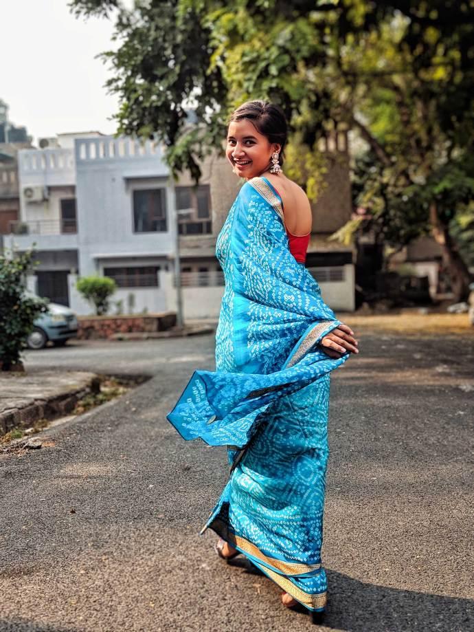 Diwali diaries sari